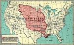 A map of the Louisiana Purchase