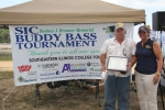 1st Place Big Bass Winner -- Sam Grubbs