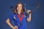 Hannah Dudley (2013 USCAA All-American 3D Archery Team) is ranked #4 in the nation (bow hunting).