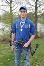 Jordan Walker (2013 USCAA All-American 3D Archery Team) is ranked #4 in the nation (bow hunting).