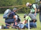 Justin Lemons' Lively Grove composite team competes in the first aid exercise during the Mine Rescue Skills Competition at Southeastern Illinois College on Friday, Sept. 21