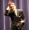 "Zachary Hanks of Harrisburg performed a program oral interpretation with the theme ""burn out.""  He incorporated different pieces from poems, prose and dramas."