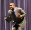 Tre Ingram of Harrisburg gave his poetry interpretation incorporating various poems that revolved around the central theme of curiosity, with the added bonus of breaking into song.
