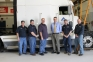 NATEF evaluation team recommends recertification for SIC's diesel tech programs.  Pictured (l-r) are<br />