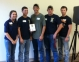 Vienna High School's FFA Chapter won second place team overall at the 2013 FFA Section 25 Ag Mechanics Competition at Southeastern Illinois College with sponsor, Jason West.