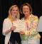 Earning the College Club of Saline County Scholarship was Laura Hanrahan of Harrisburg, presented by Dr. Karen McClusky.