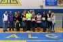 SIC sophomore softball players were honored Saturday, Jan. 24 during SIC's Sophomore Recognition Ceremony.  Pictured (left to right) are: Coach Donn Gines, JJ Unthank, Ashton Unthank, Easton Unthank and Julie Unthank (Eldorado, Ill.); Taylor Smith and Mother (Salem, Ill.); Katie Prizer (Defiance, Mo.); Russell Hunt, Marriah Smith, Kylee Smith and Marnia Hunt (Harrisburg, Ill.); Cassandra Lucking (Woodlawn, Ill.); and Rebecca Touchette and Tonya Campbell (Belleville, Ill.).