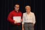 Griffen Stock of Norris City was awarded the Frank Schneider Memorial Scholarship from Frank Schneider's wife, Carol Schneider.